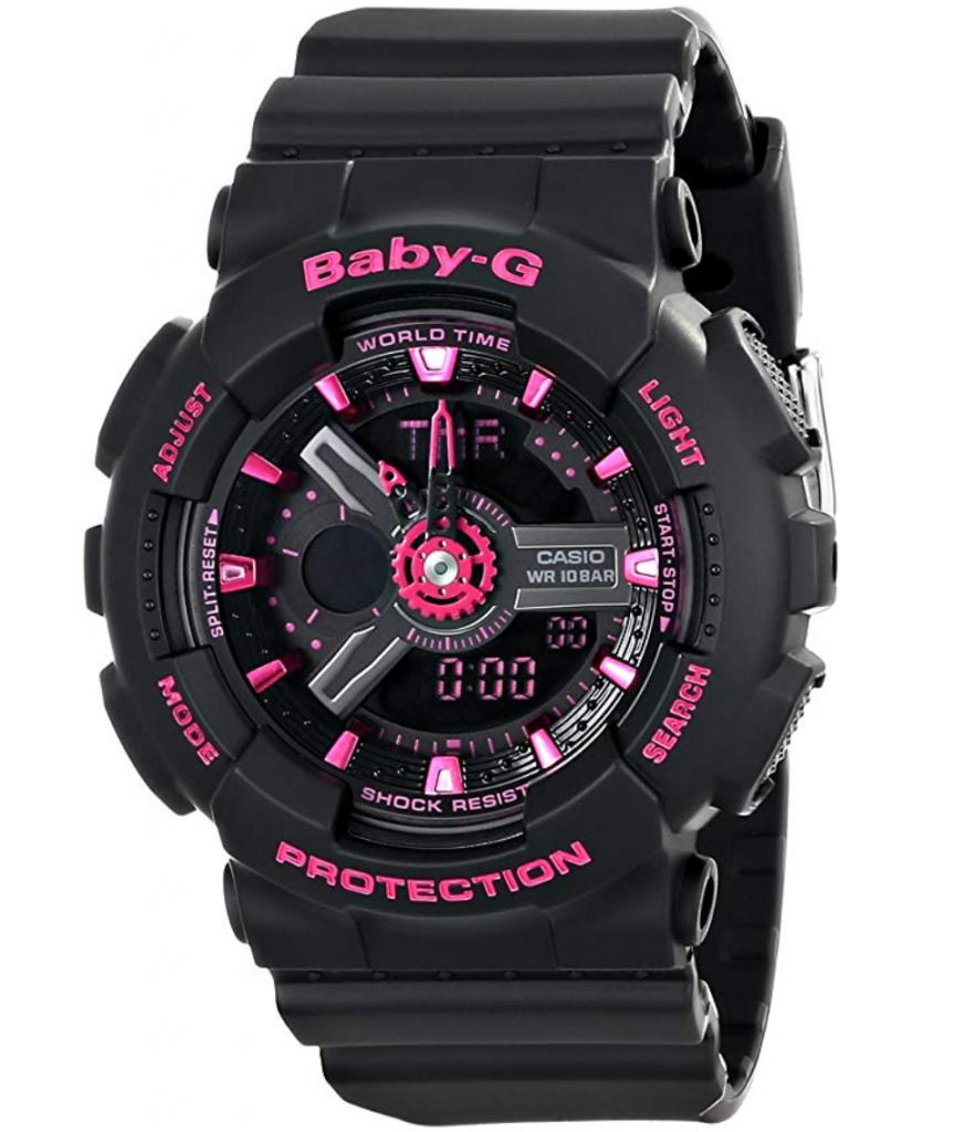 Casio BA-111-1ACR Baby-G, Casio G-Shock Watch for Women