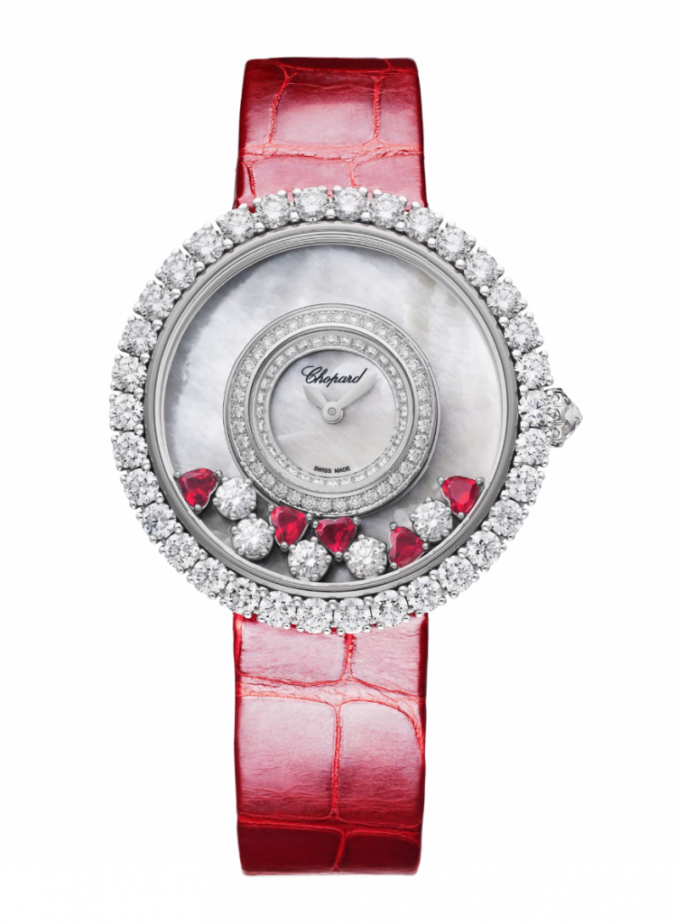 Chopard Happy Diamonds Joaillerie, Best Red Watches for Women