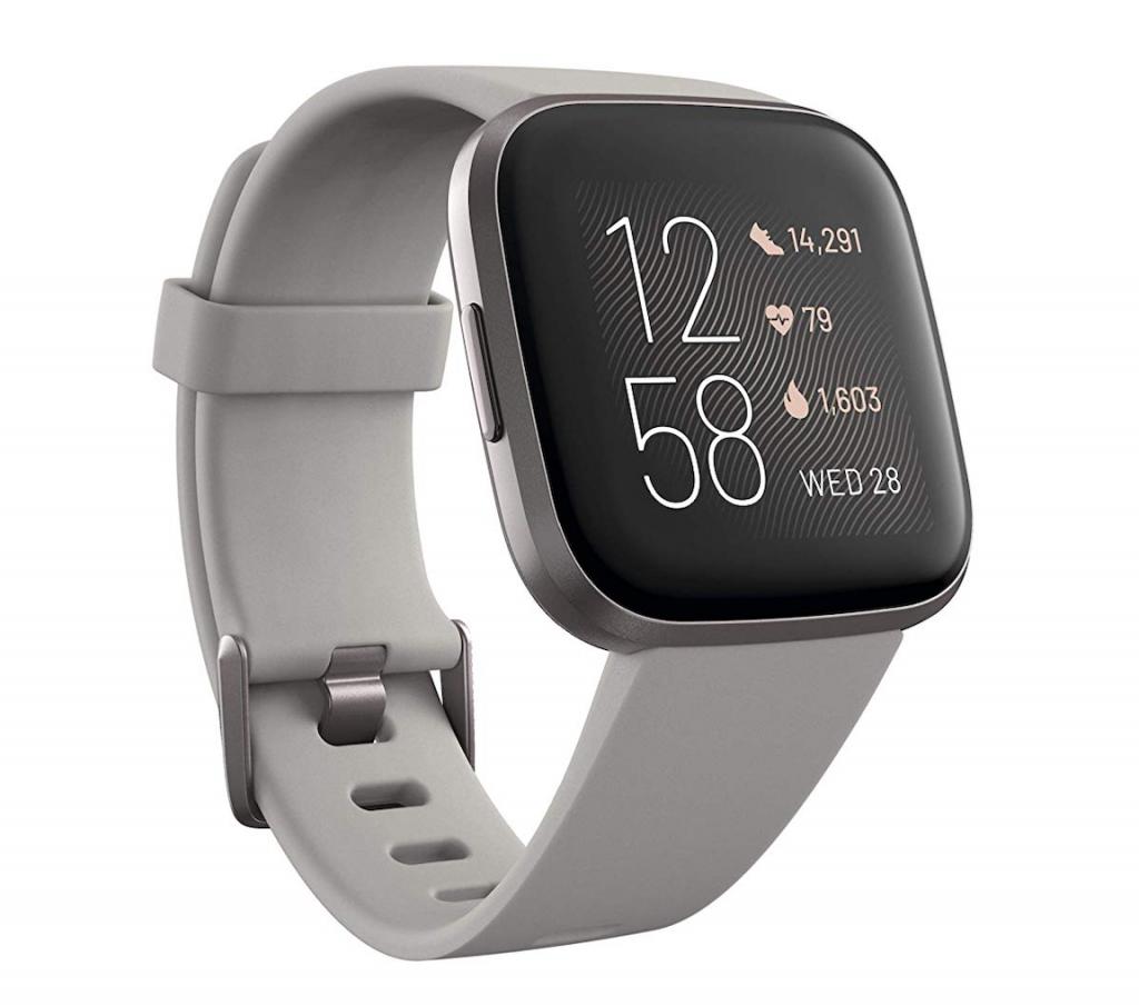 Fitbit Versa 2 Health & Fitness Smartwatch, Best Running Watch for Women