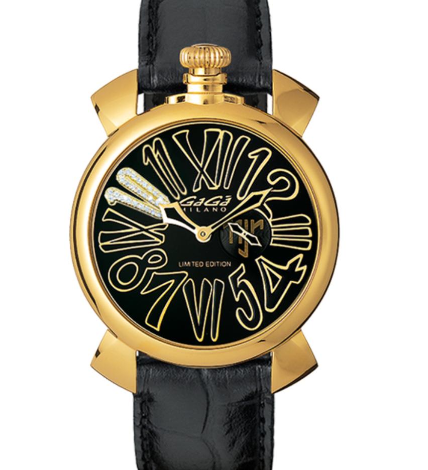 Gaga Milano Neymar. Jr Limited Edition, Luxury Watch, Italian Watch, Leather Watch, Gold Watch