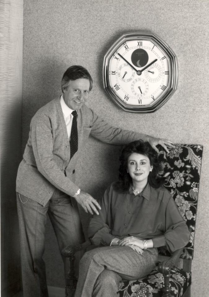 Gerald and Evelyne Genta