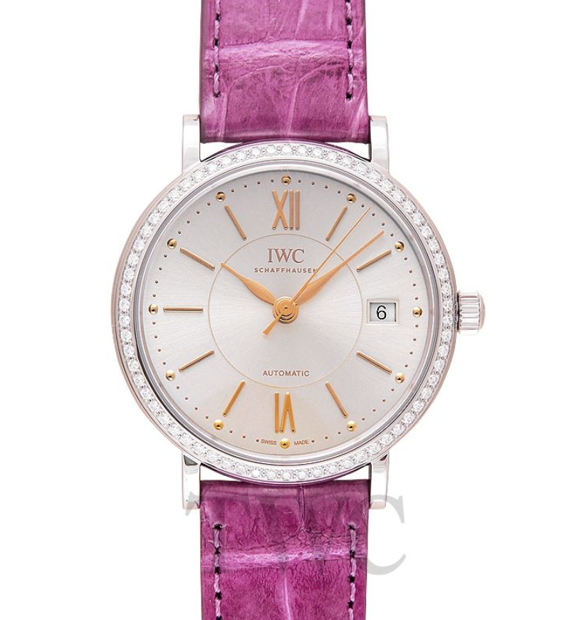 IWC Portofino Automatic, Best Pink Watches for Women, IWC Watches for Women
