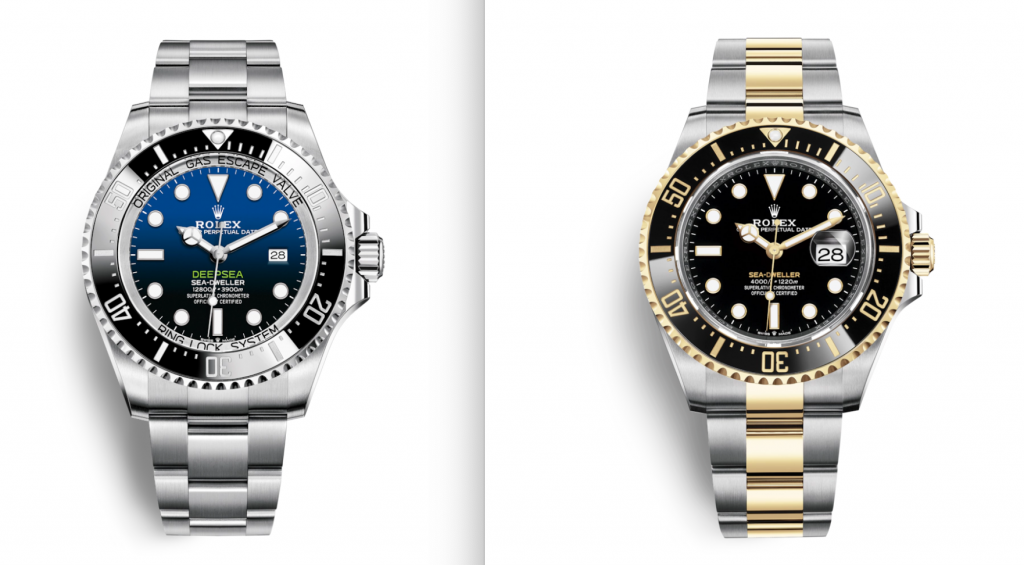 Rolex Deepsea And Rolex Sea-Dweller Watches, Steel Watches, Luxury Watches, Automatic Watches