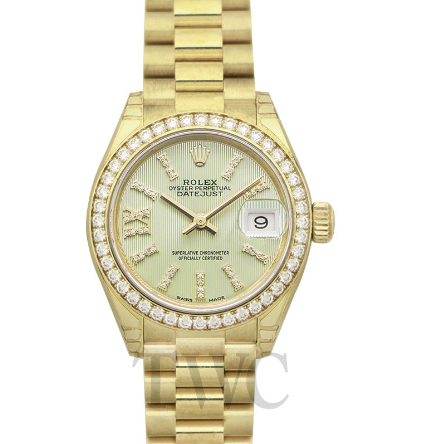Rolex Lady-Datejust, Best Yellow Gold Watches for Women, Yellow Gold Watch, Rolex Watches for Women