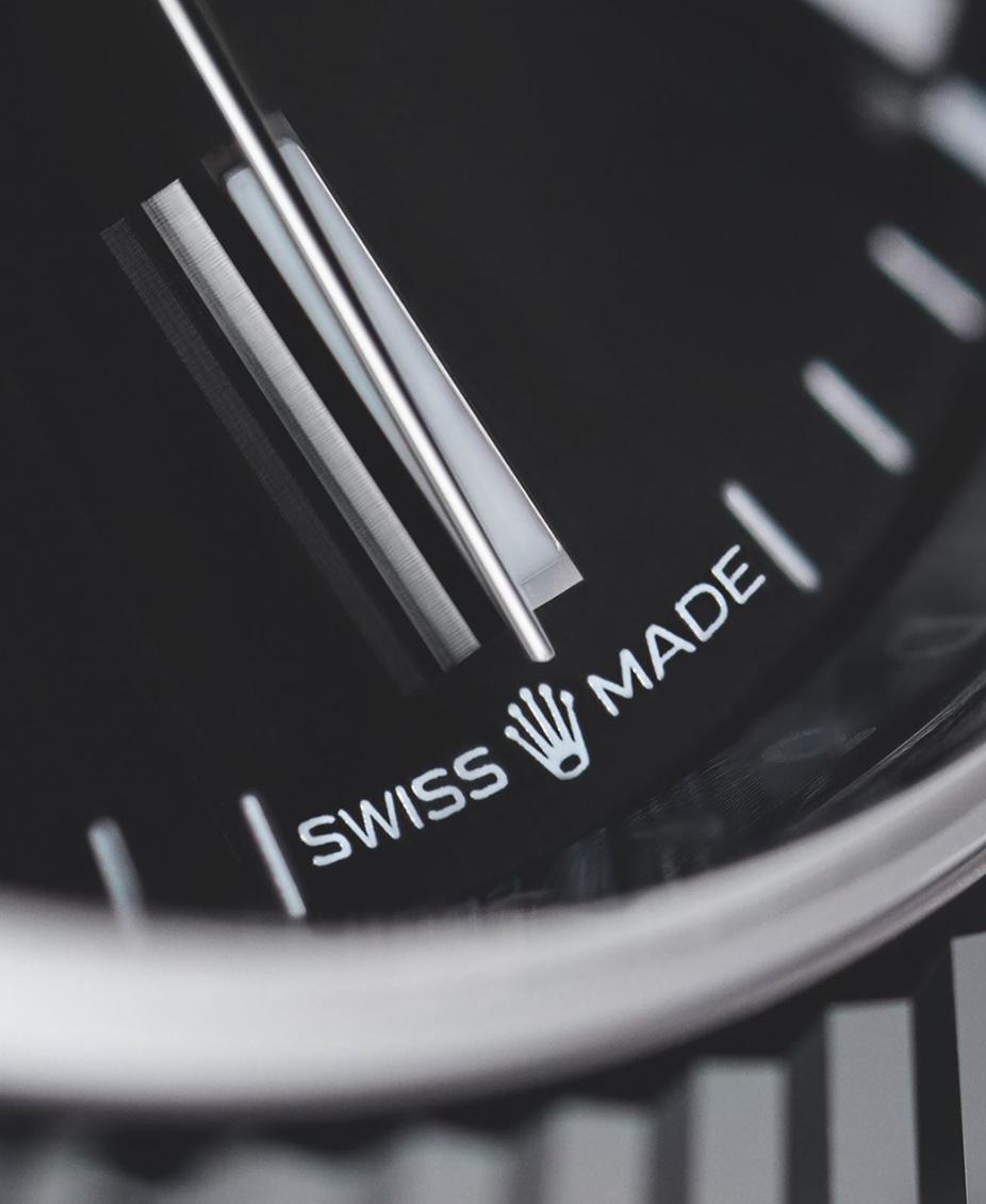 Rolex Logo Up Close