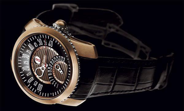 Gefica Safari watch, Gerald Genta, wristwatch
