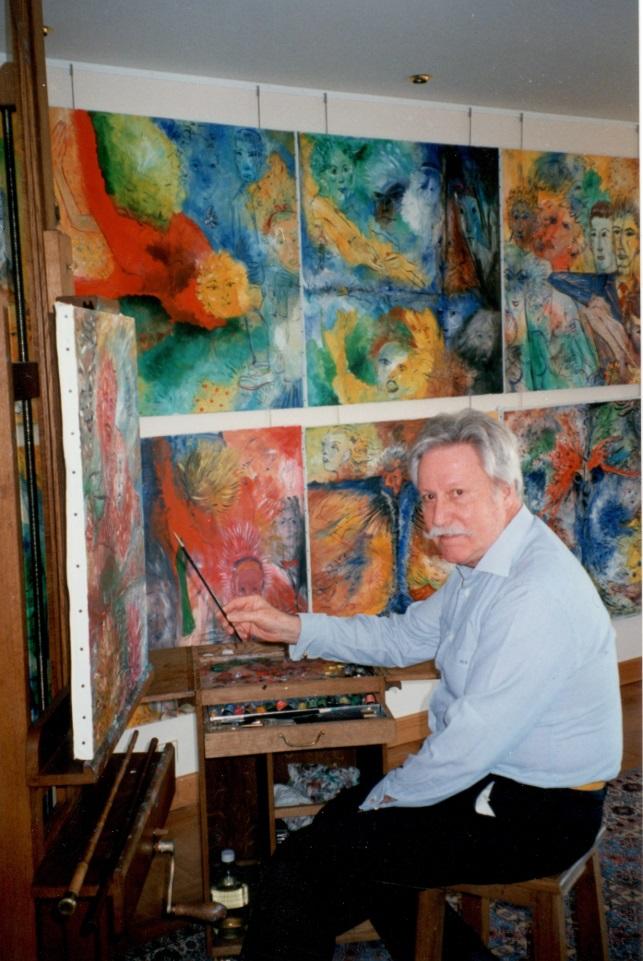 Gerald Genta, paintings