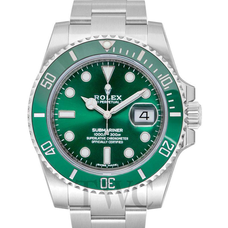 Rolex Submariner Green, Date Display, Dive Watch, Luxury Watches For Men, Swiss Watch