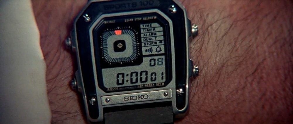 Seiko G757 Sports 100, James Bond Watches