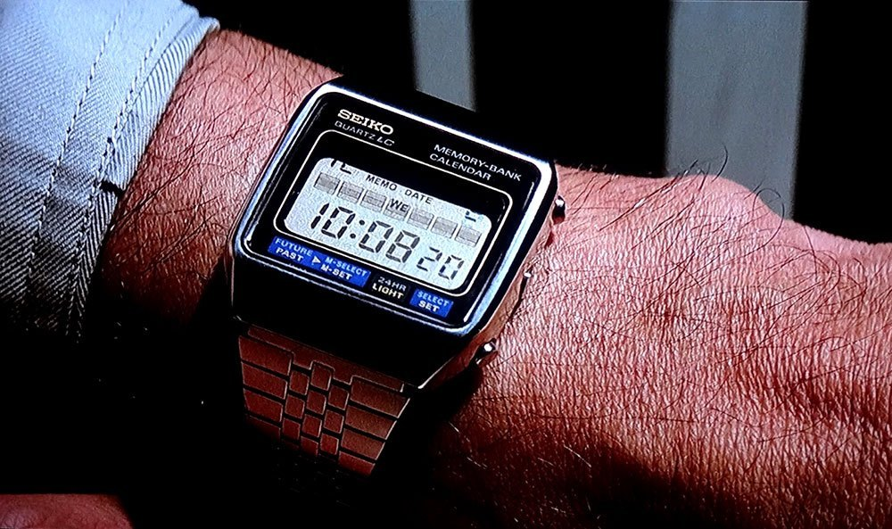 Seiko M354 Memory Bank Calendar, James Bond Watches