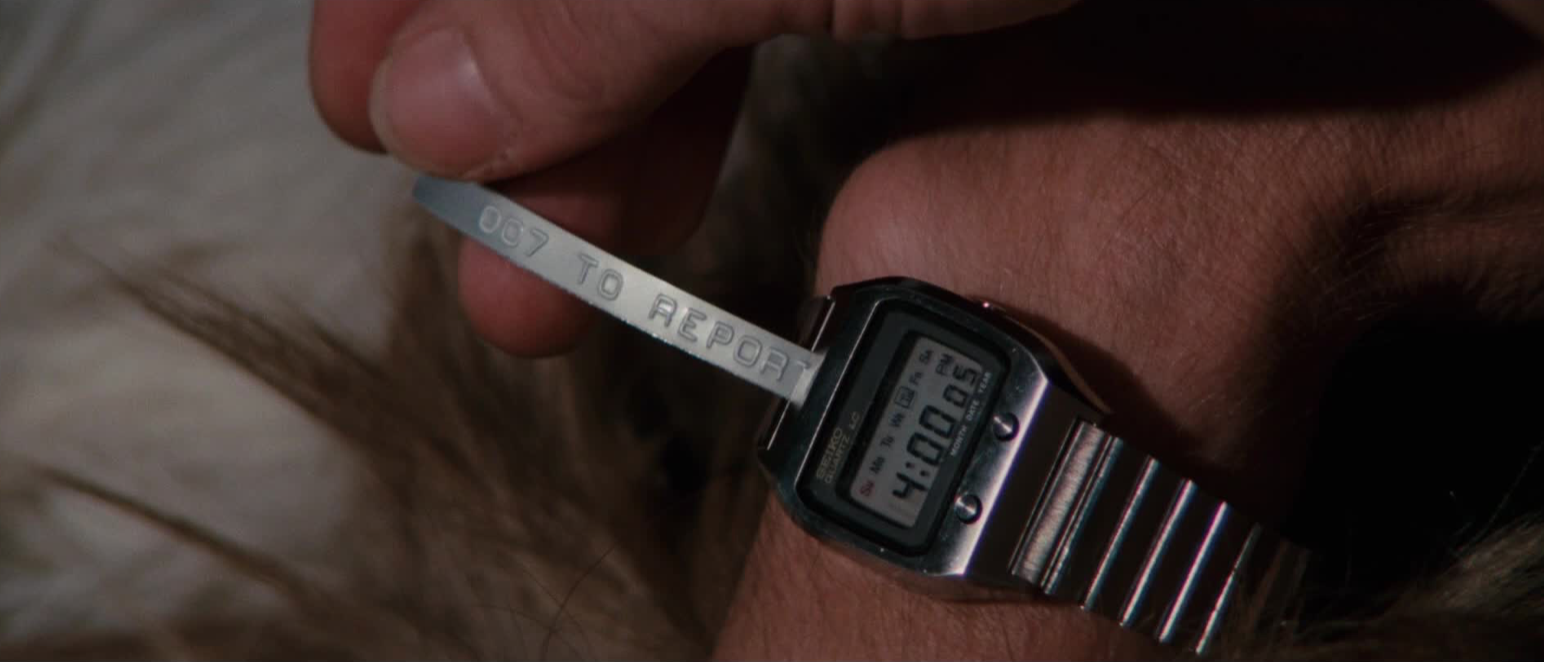 Seiko ref. 0674 LC, James Bond Watches