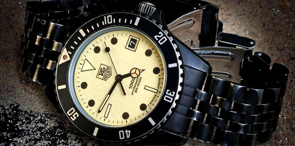 TAG Heuer Professional Night-Dive Reference, James Bond Watches