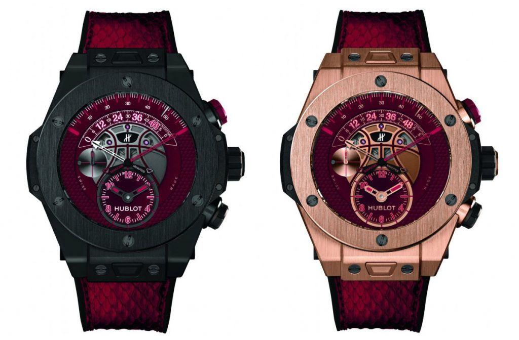 Hublot Big Bang Kobe 'Vino' Bryant, Kobe Bryant Watches