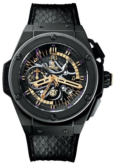 Hublot King Power Black Mamba, Kobe Bryant Watches
