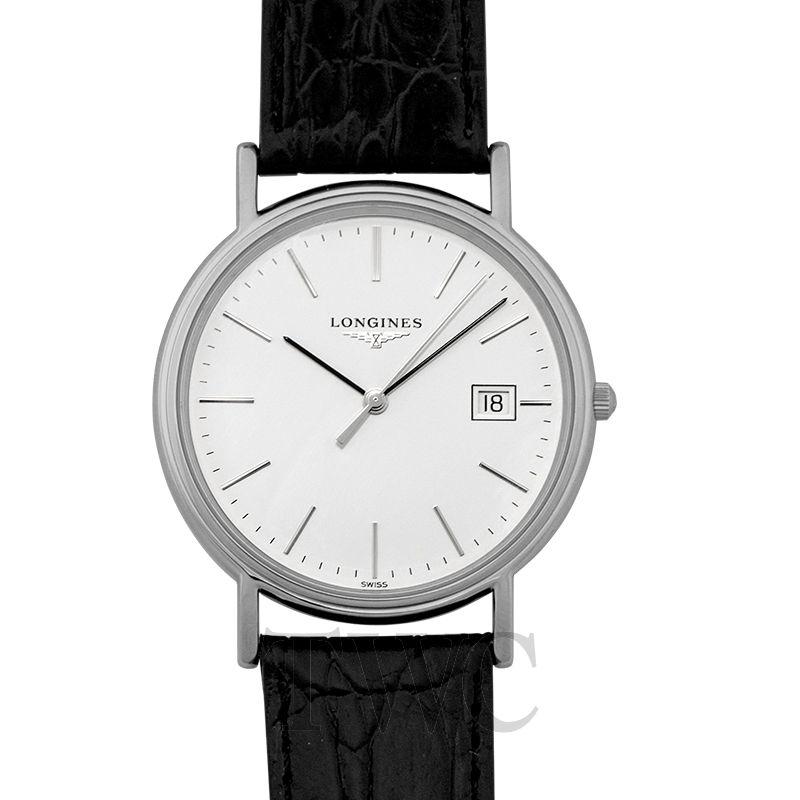 Longines Présence, Dress Watch, Leather Watch, Date Display, Swiss Watch