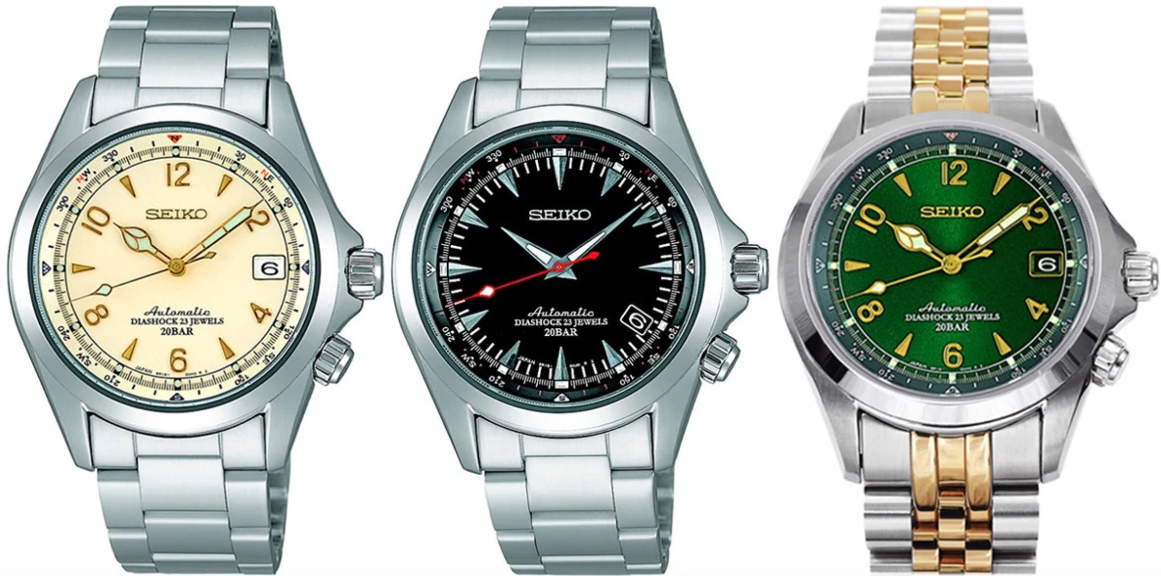Seiko Alpinist 2006 Models, Alpinist Watches