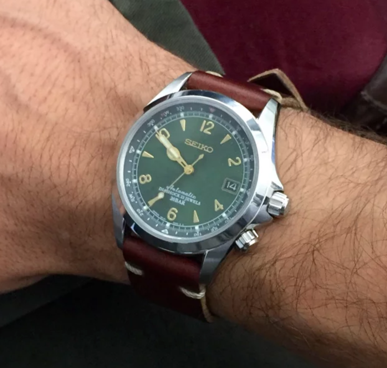 The Green Alpinist SARB017, Seiko Alpinist