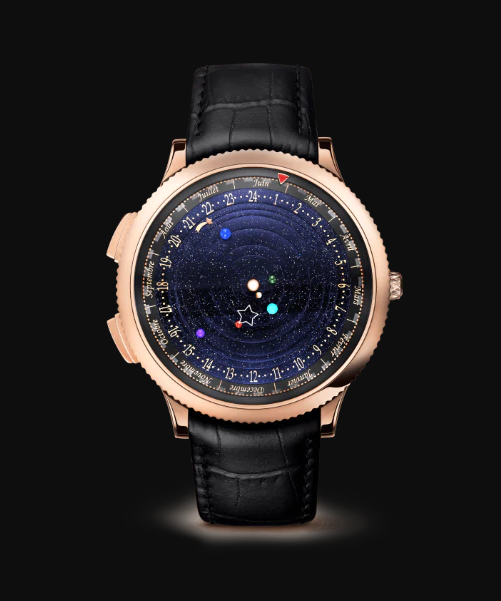 Van Cleef and Arpels Midnight Planetarium, Watch Complications