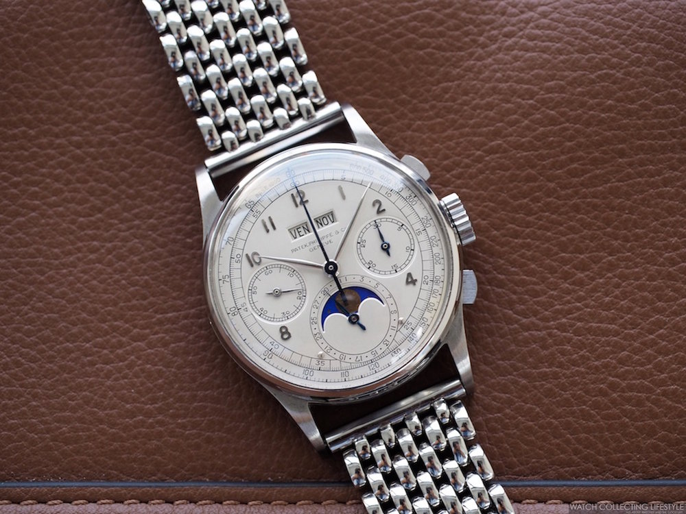 Patek Philippe Ref. 1518 in Stainless Steel, Most Expensive Watches