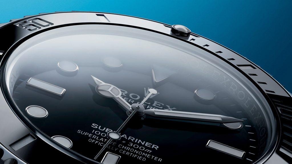 Rolex Dial Closeup, Rolex Submariner