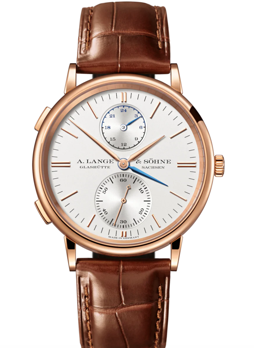 A. Lange & Sohne Saxonia Dual Time, GMT Watches