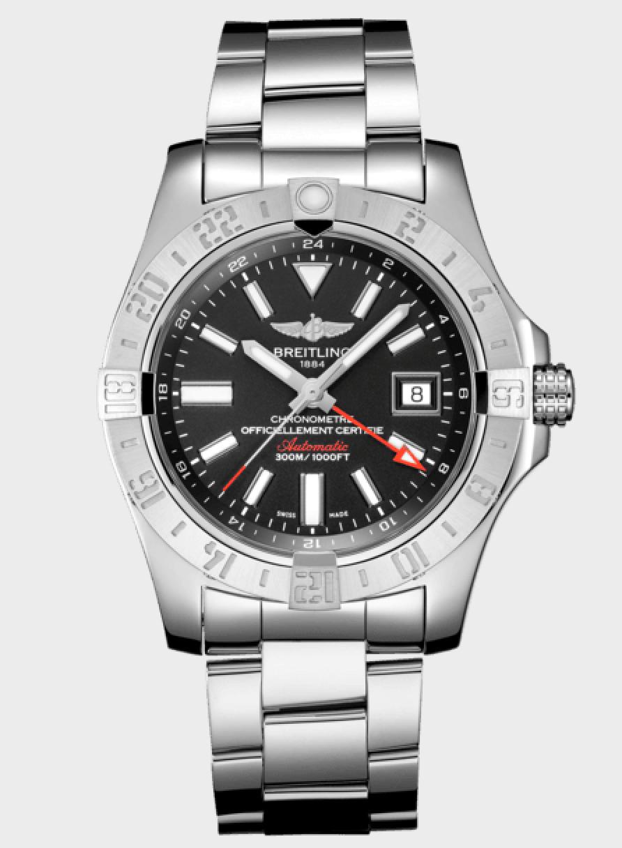 Breitling Avenger II GMT, GMT Watch