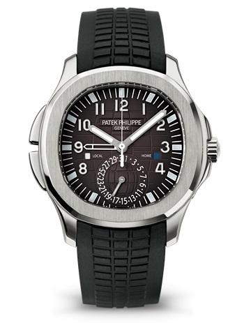 Patek Philippe Aquanaut Travel Time, GMT Watch
