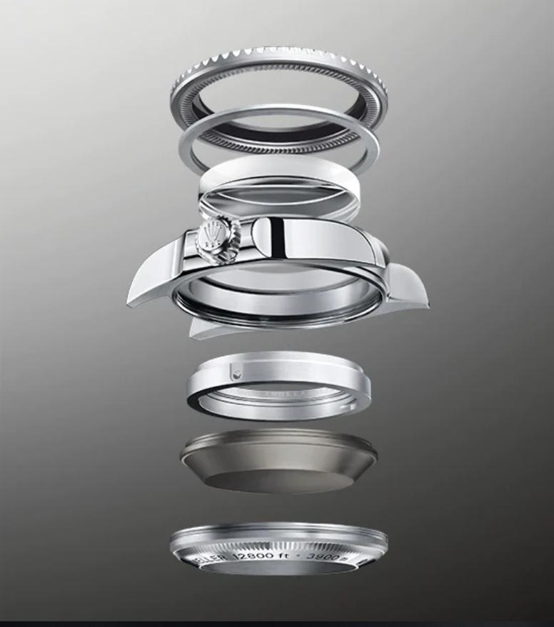 Rolex Ringlock Case System