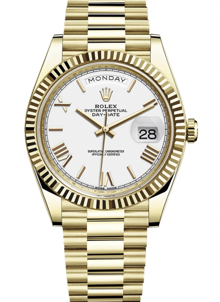 Rolex Day-Date 40mm 18K Yellow Gold, Rolex Presidential
