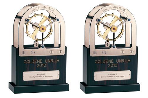 Sinn Watches Goldene Unruh trophies