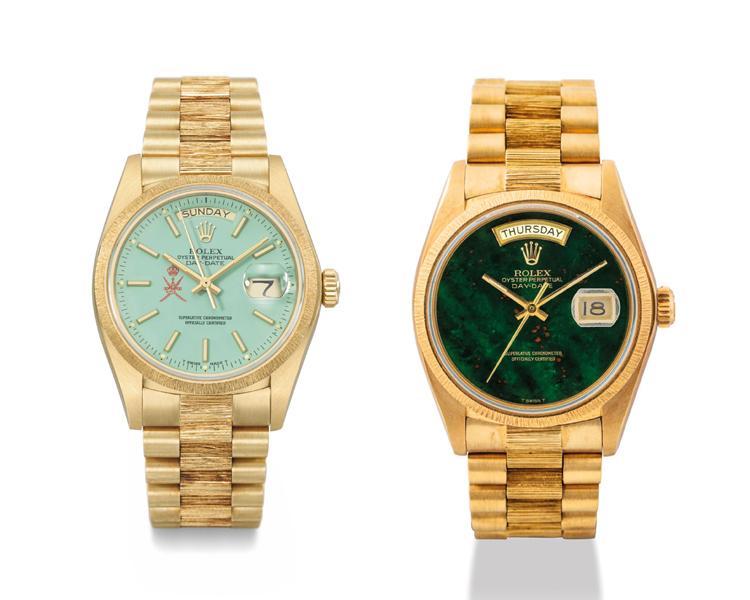 Christie's Vintage Rolex Watches, Vintage Rolex Presidential Watches