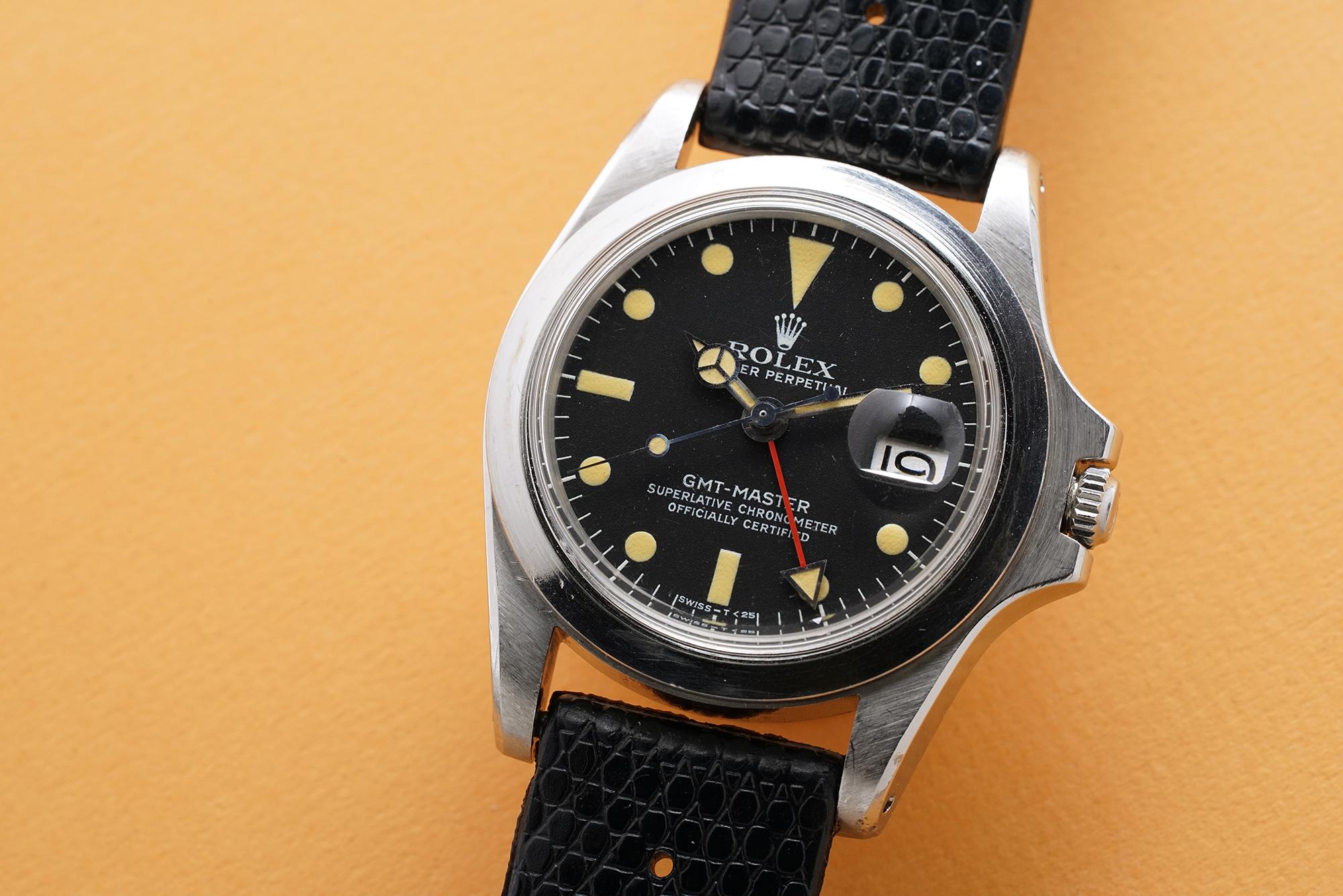 Marlon Brando's Rolex GMT-Master, Vintage Rolex Watches
