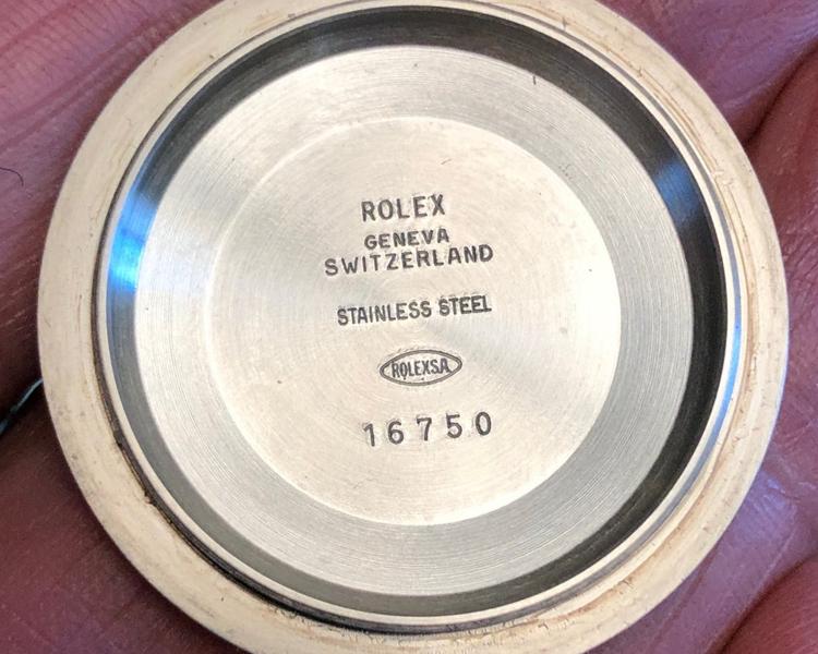 Vintage Rolex Caseback, Vintage Rolex Watches