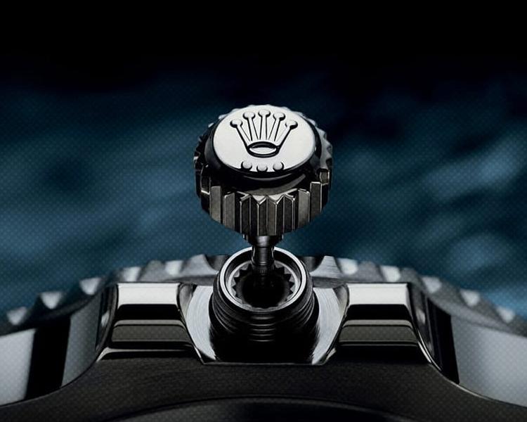 Vintage Rolex Crown Triplock Stainless Steel