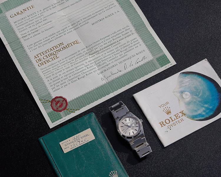 Vintage Rolex Papers