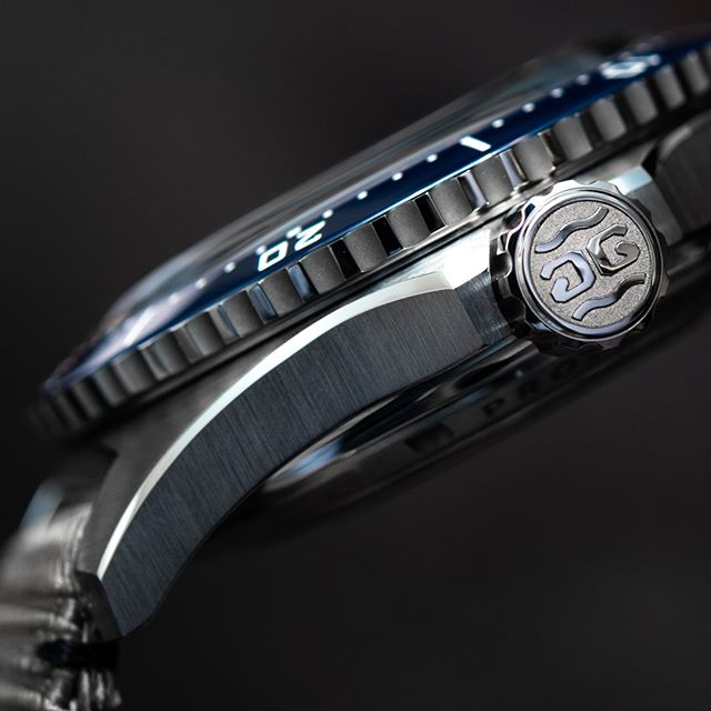 Impeccable finishing of a Glashutte Original watch