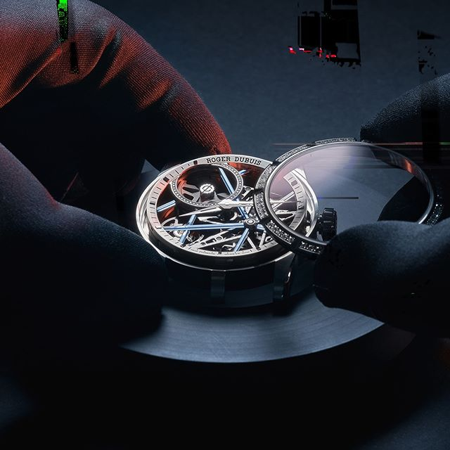 Roger Dubuis Dedication to the Watchmaking Craft