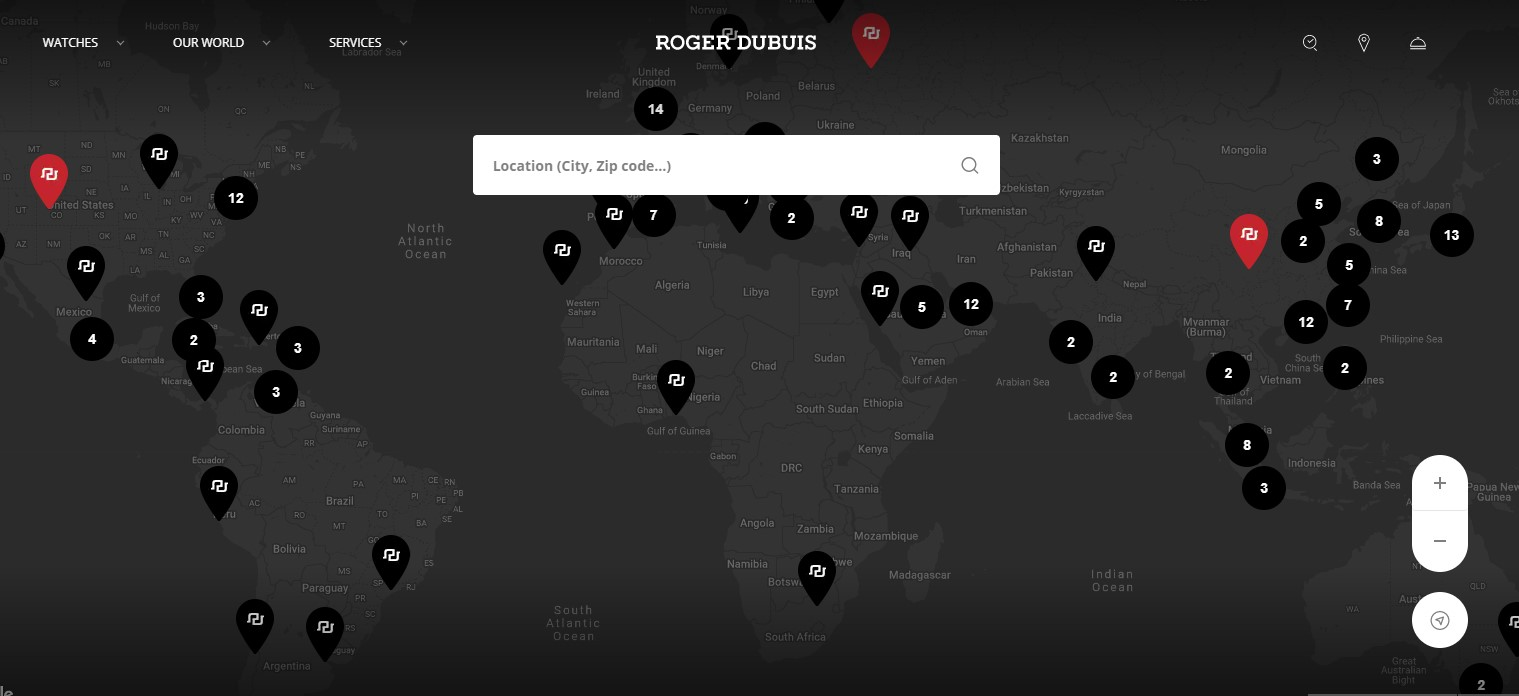 Where to buy Roger Dubuis Watches