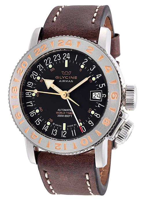 Glycine Airman 18 GMT Automatic World Timer GL0229
