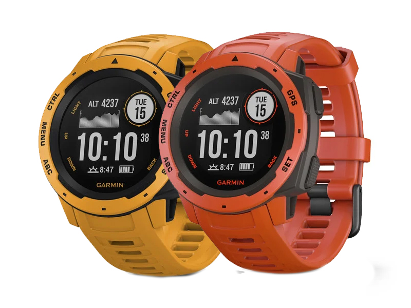 Garmin Instinct Sunburst Flame Red