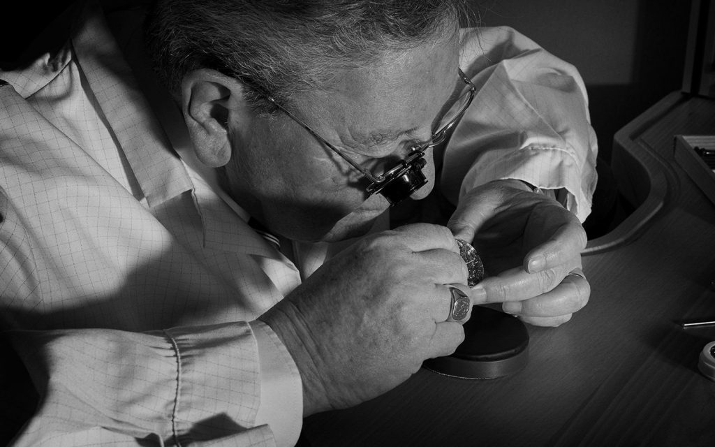 Roger Dubuis, the founder of the Roger Dubuis watch brand