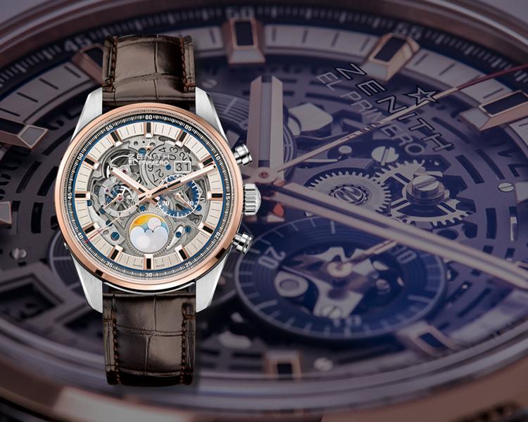 Zenith Chronomaster El Primero Grande Date Full Open, Zenith Watches