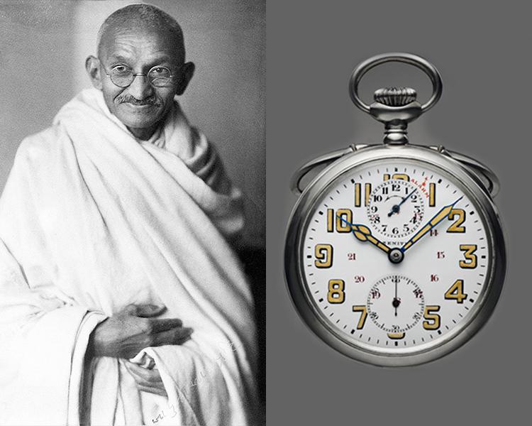 Zenith Pocket Watch Mahatma Gandhi