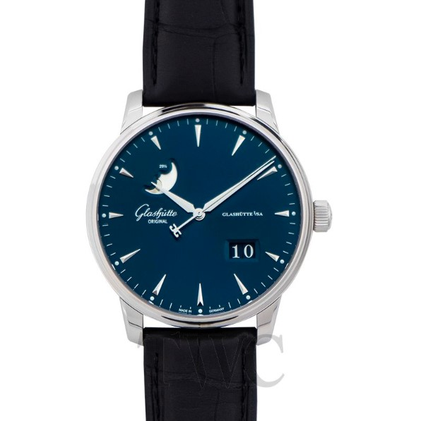 Senator Excellence Panorama Date Moon Phase Watch