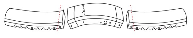 Sinn 356 Pilot Watch's Silicone Strap