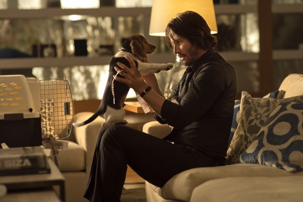 Keanu Reeves as John Wick wearing the Carl F. Bucherer Manero AutoDate Watch, John Wick Watch