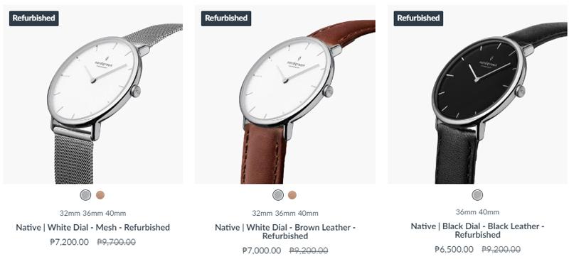 Nordgreen Refurbished Watches Native Model