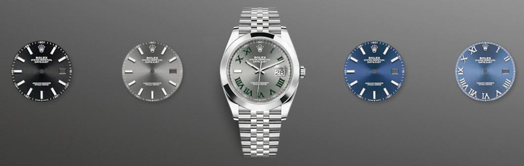 Rolex Datejust 41 Dials