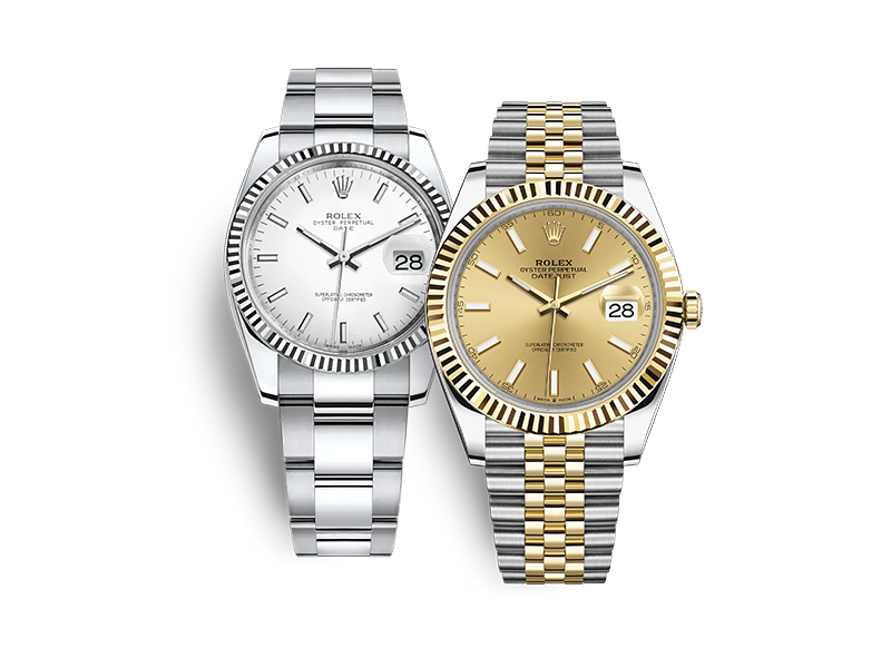 Rolex Oyster Perpetual Datejust 41Reference 126333 and 126334