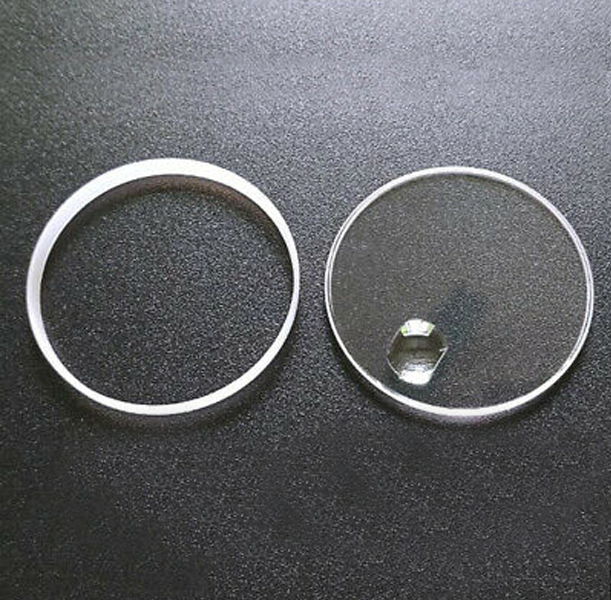 Sapphire Crystal with Gasket for Watches